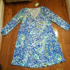 NWT Lilly Pulitzer Erin Dress Blue Crush